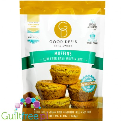 Good Dee's Low Carb Muffin Baking Mix 8.4 oz