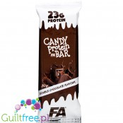 Fitness Authority Candy Bar Double Chocolate - 24g protein per 200kcal