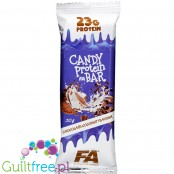 Fitness Authority Candy Bar Chocolate Coocnut - 24g protein per 200kcal