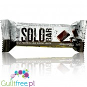 Warrior Solo Double Chocolate niskocukrowy baton proteinowy 115kcal