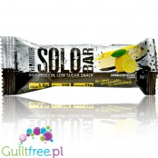 Warrior Solo Lemon Cheesecake niskocukrowy baton proteinowy 115kcal
