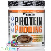 Weider Protein Pudding, Choco-Hazelnut 450 grams