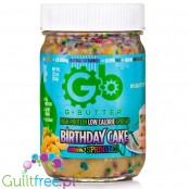 G Butter High Protein Spread, Birthday Cake with Sprinkles 12.6 oz