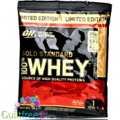 Optimum Nutrition, Whey Gold Standard 100%, Cinnamon Bun, saszetka