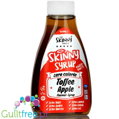 Skinny Food Zero Calorie Toffee & Apple Syrup