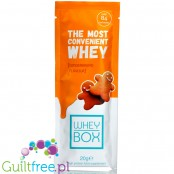 Whey Box The Most Convenient Whey Gingerbread
