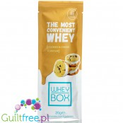 Whey Box The Most Convenient Whey Cookies & Cream