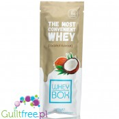 Whey Box The Most Convenient Whey Coconut