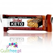 Slim Fast Keto Meal Bar, Whipped Peanut Butter Chocolate - keto baton z MCT i stewią