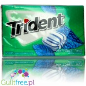 Trident Minty Sweet Twist sugar free chewing gum with xylitol