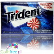 Trident Perfect Peppermint - guma do żucia bez cukru, z ksylitolem