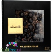 Me Carré Sugar Free Gourmet Dark Chocolate with Ethiopian Yirga Coffee/ Cocoa Beans & Blackcurrants