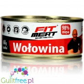 Fit Meat canned lean beef in pieces 300g