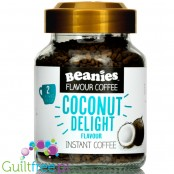 Beanies Coconut Delight instant flavored coffee 2kcal pe cup
