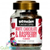 Beanies White Chocolate & Raspberry instant flavored coffee 2kcal pe cup