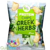 Daily Life Protein Chips 30g Greek Herbs