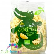 Granex BIO low calorie corn puffs, Crocodile shape