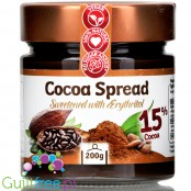 Fit Cookie sugar free chocolate spread with erythritol