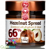 Fit Cookie sugar free chocolate hazelnut spread with erythritol