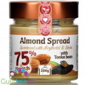 Fit Cookie Almond Spread with erythritol and tonka bean