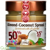 Fit Cookie Almond Coconut Spread with erythritol