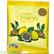 Sina sugar free ginger & lemon hard candies from Indonesia