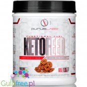 Purus Labs Ketofeed, Samoa Chocolate Cream - low glycemic meal replacement 21.3 oz