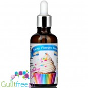 Funky Flavors Sweet Birthday Cake sugar free liquid flavor with sucralose