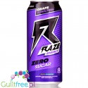 Raze Energy Grape Bubblegum  - energetyk bez kalorii z BCAA i kompleksem reFRESH
