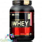 Optimum Nutrition, Whey Gold Standard 100% 0,9kg White Chocolate Raspberry