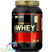 Optimum Nutrition, Whey Gold Standard 100% 0,9kg Chocolate Hazelnut