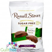 Russel Stover Truffle sugar free stuffed chocolate candies, new formula with stevia