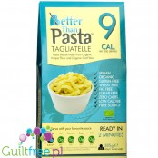 Better than Tagliatelle organic konnyaku & organic oat fiber - Organic konjac shirataki pasta in the shape of rice enriched