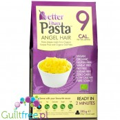 Better than Angel Hair organic konnyaku & organic oat fiber - Organic konjac shirataki pasta in the shape of rice enriched