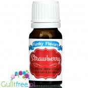 Funky Flavors Strawberry for shakes, desserts, yoghurt, ice cream & pancakes
