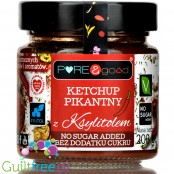 Pure & Good sugar free spicy ketchup with xylitol