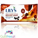 Lily's Sweets Semi Sweet Stevia Baking Milk Chocolate Chips, No Sugar Added