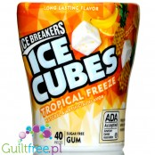 Ice Breakers Ice Cubes Tropical Freeze sugar free chewing gum