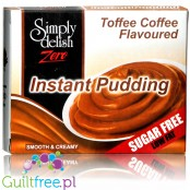 Simply Delish Sugar Free Instant Toffee & Coffee Whipped Dessert 40g