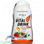 Vital Drink Peach & Passionfruit concentrated water flavor enhancer
