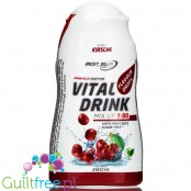 Vital Drink Cherry concentrated water flavor enhancer