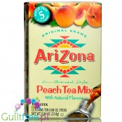 Arizona Tea Sugar Free Iced Tea Mix, Sun Brewed Style, Peach