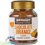 Beanies Chocolate Orange instant flavored coffee 2kcal pe cup