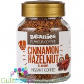 Beanies Cinnamon Hazelnut instant flavored coffee 2kcal pe cup