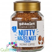 Beanies Nutty Hazelnut instant flavored coffee 2kcal pe cup