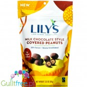 Lily's Sweets Chocolate Covered Peanuts, Milk Chocolate