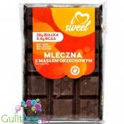 iLoveSweet sugar free protein dark chocolate with peanut butter