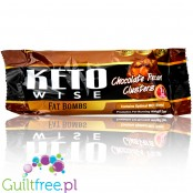 Healthsmart keto Wise Fat Bomb, Chocolate Pecan Clusters