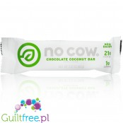 No Cow Bars, Chocolate Coconut vegan protein bar