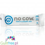 No Cow Bars, Vanilla Caramel vegan protein bar